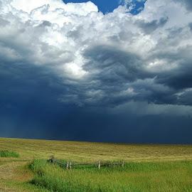 South Dakota Storm by Ron Keller - Landscapes Weather ( clouds, thunderstorm, weather, storm, landscape )