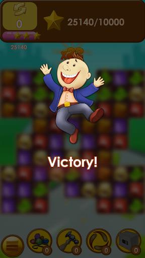 Capitalist Millionaire Match 3 - screenshot