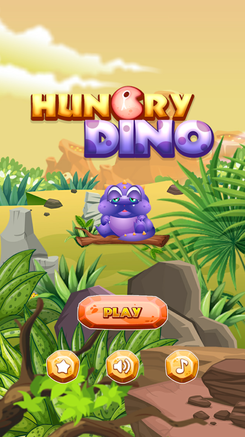 Hungry Dino Screenshot 1