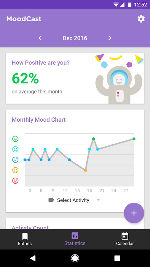 MoodCast Diary - Mood Tracker Screenshot 4