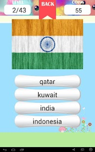 National Flags of Asia Quiz - screenshot