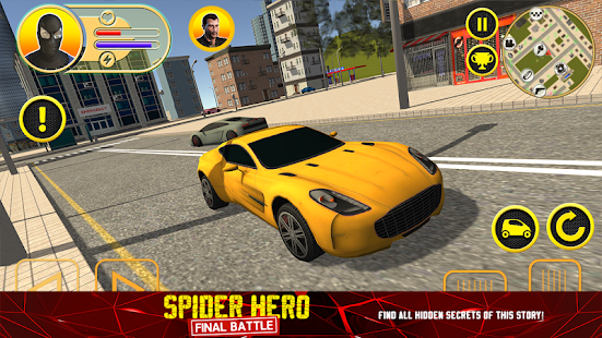 Spider Hero: Final Battle Screenshot