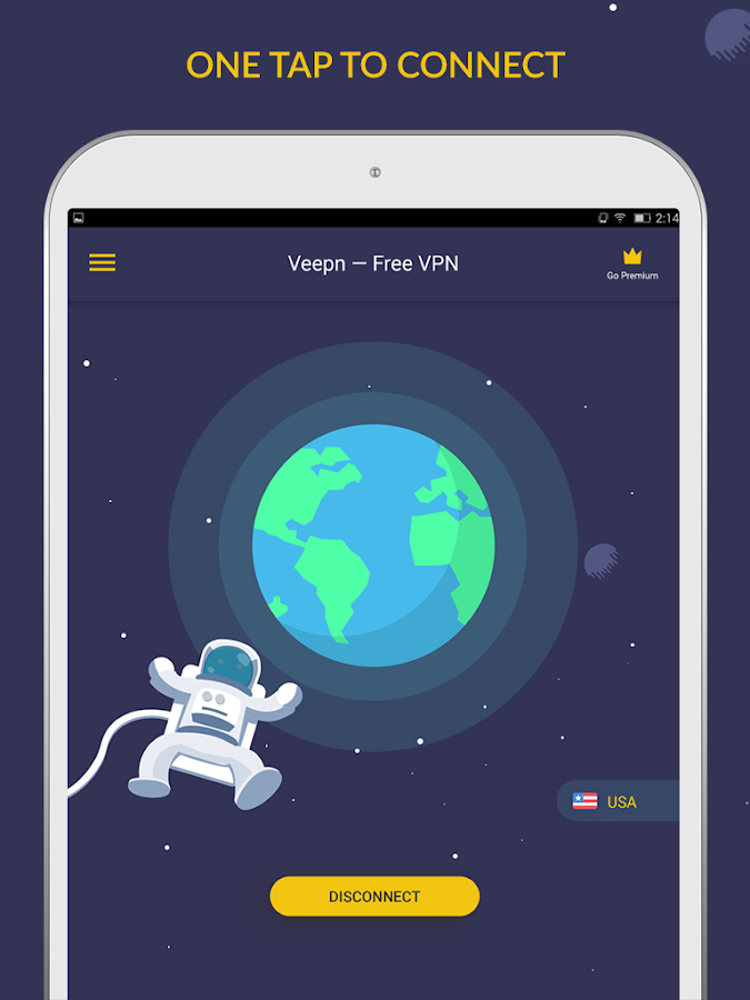 Free VPN by Veepn Screenshot 4