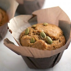 Chai Tea Muffins with Pumpkin Seeds