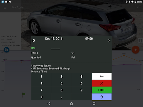 MyFuelLog2 - Car Maintenance APK screenshot thumbnail 11