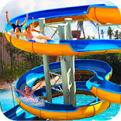 Water Slide Adventure Park 3D APK for Bluestacks