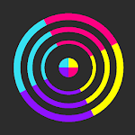 Switch Color! 2018: Swap Twisty Circle Icon