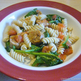 Pasta with Roasted Tomatoes and Sausage