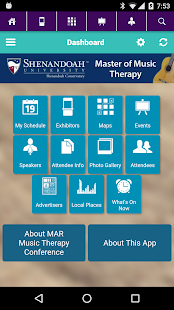 MAR Music Therapy Conference - screenshot