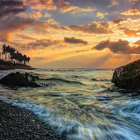 Semangat Pagi by I Gusti Putu Purnama Jaya - Landscapes Sunsets & Sunrises ( adhitz arch, biksudinata, tut bolank, oka parmana, yuditia mendra )