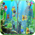 Aquarium Zipper Screen lock APK for Bluestacks