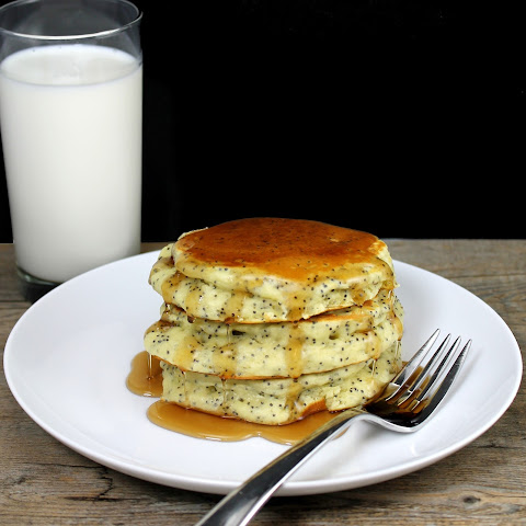 Almond Poppyseed Pancakes