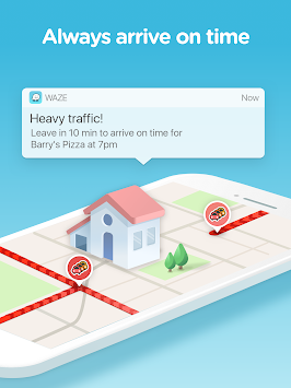 Waze - GPS, Maps & Traffic APK screenshot thumbnail 8