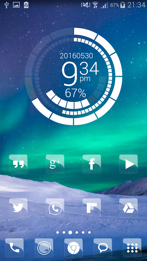 Elite Glass Nova Theme HD Screenshot 3