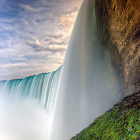 Under Niagara by Peter Kennett - Landscapes Travel ( canada, niagara falls, waterfall, falls, niagara )