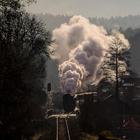 by Michal Valenta - Transportation Railway Tracks