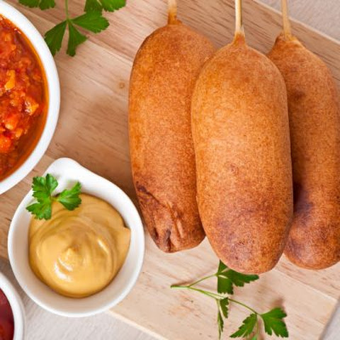Deep-Fried Classic Corndogs