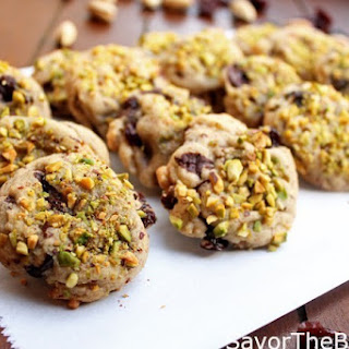 Pistachio Cherry Cookies