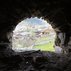 Window, Svanatia, Georgia by Luboš Zámiš - Buildings & Architecture Architectural Detail
