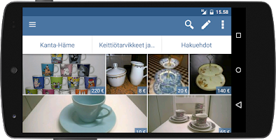 Screenshot of Tori.fi