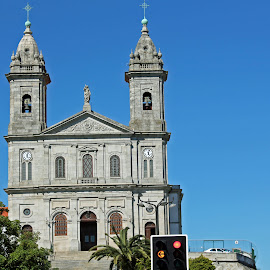 Church in Porto Portugal by Luci Henriques - Buildings & Architecture Places of Worship