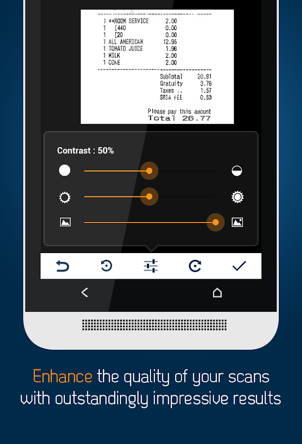 Docufy - PDF Scanner App Screenshot 5