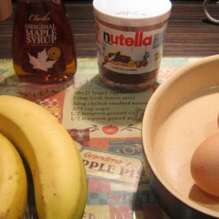 Banana Cloud with Nutella