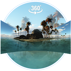 VR Panoramic Tropical Island 3D Theme For PC