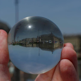 World in my hand by Cédric Guere - Landscapes Travel
