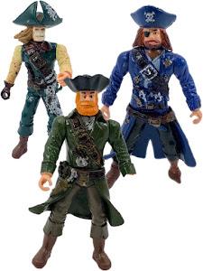 """Набор фигурок """"Пираты Рыжая борода, Роджер и Скелет"""""""