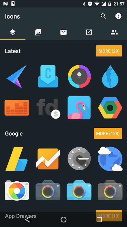 Muffin Icon Pack Screenshot 0