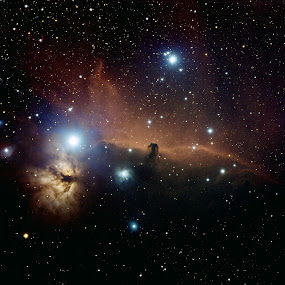 IC434 Horsehead Nebula by Bill Schlosser - Landscapes Starscapes ( storm, stormy, weather,  )
