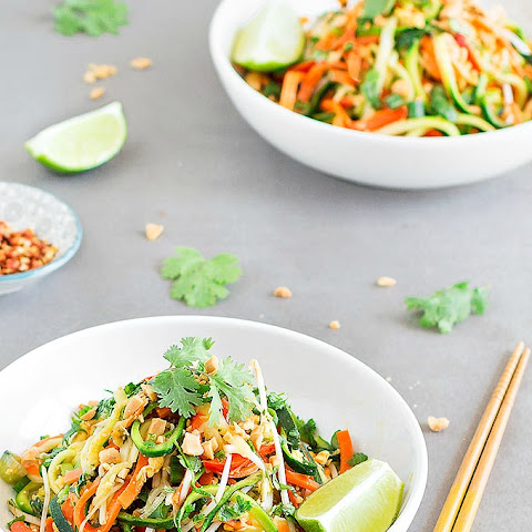 Easy and Healthy Pad Thai Zoodles