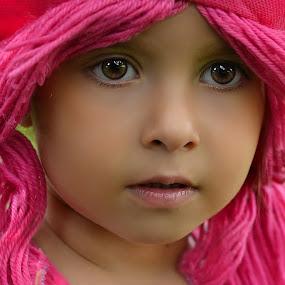 strawberry cupcake by Julian Markov - Babies & Children Child Portraits