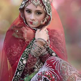 india style by Bramantya Wardana - People Portraits of Women