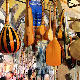 Turkish olden time musical instruments  by Naveen Aggarwal  - Artistic Objects Musical Instruments ( olden days, turkish musical instruments )