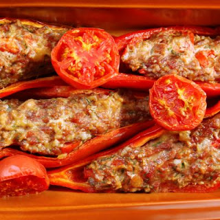 Stuffed Red Pepper Chilis