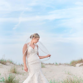 Coastal bride by Teena Emerson - Wedding Bride ( bride, beach, coastal )