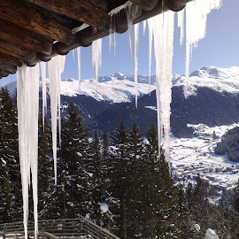 by Serguei Ouklonski - Landscapes Travel ( mountains, mountain, sky, davos, snow, schatzalp )