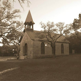 Old church by Brenda Shoemake - Buildings & Architecture Places of Worship
