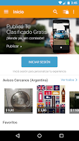 Screenshot of alaMaula Clasificados Gratis