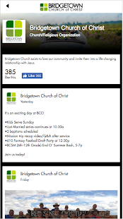Bridgetown Church of Christ - screenshot