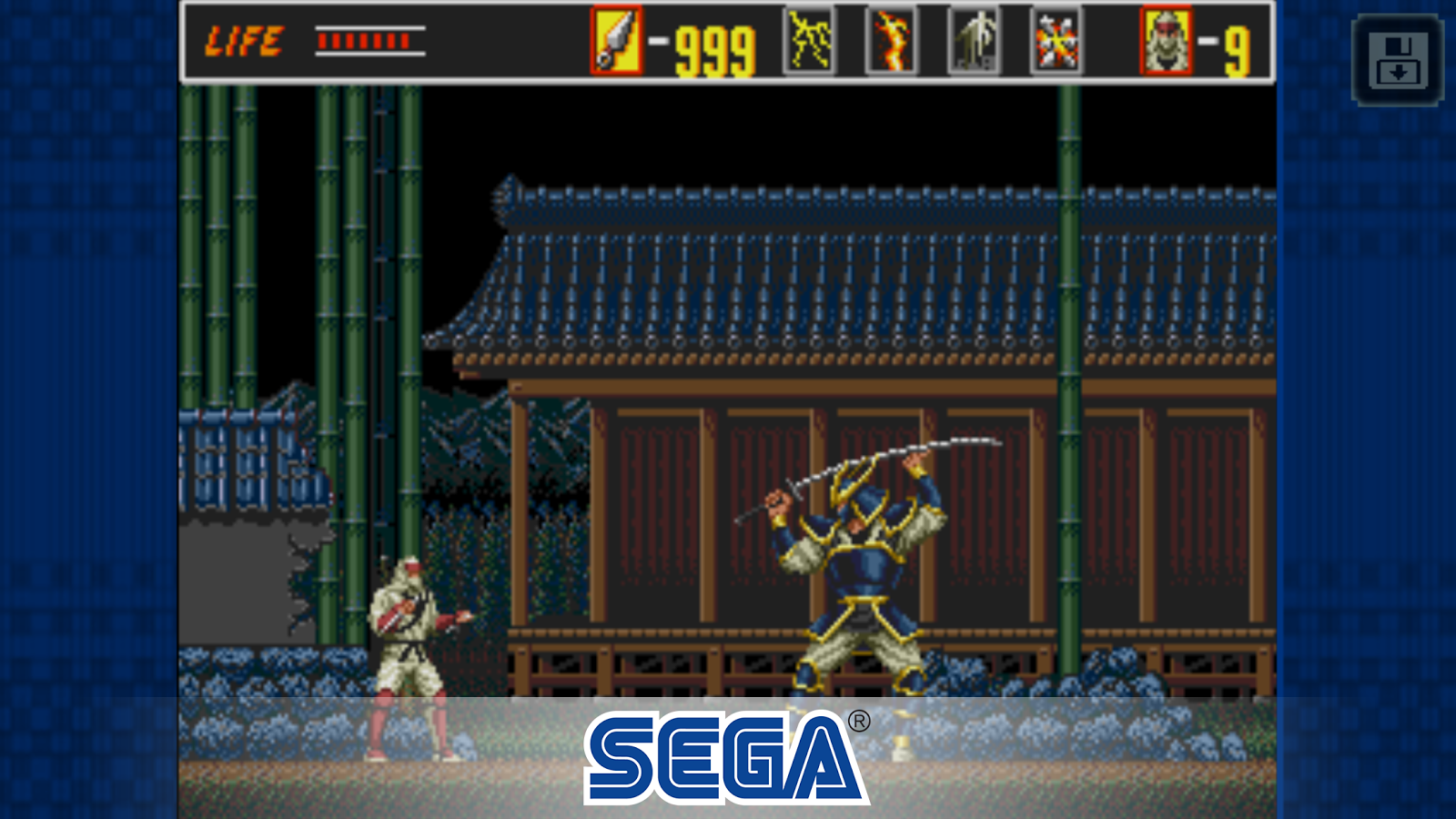 The Revenge of Shinobi Classic Screenshot 2
