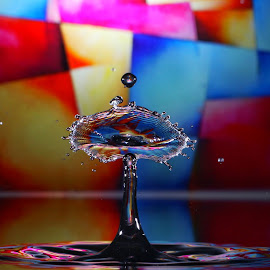 by Manuel Castro - Abstract Water Drops & Splashes ( thank you )