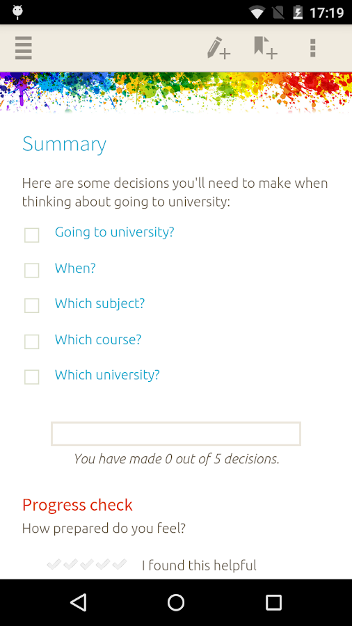 University Applications Screenshot 3