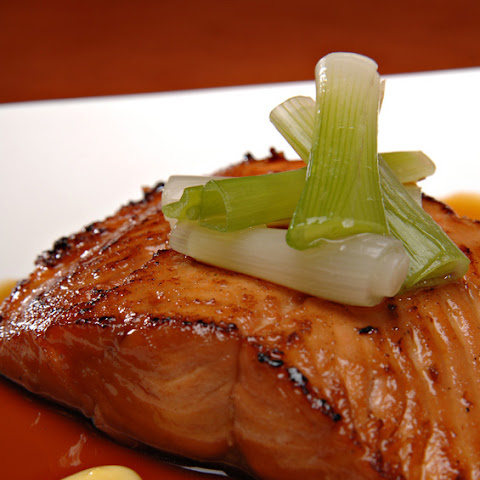 Maple Glazed Baked Salmon