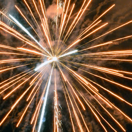 Burst by Neil Wilson - Abstract Fire & Fireworks