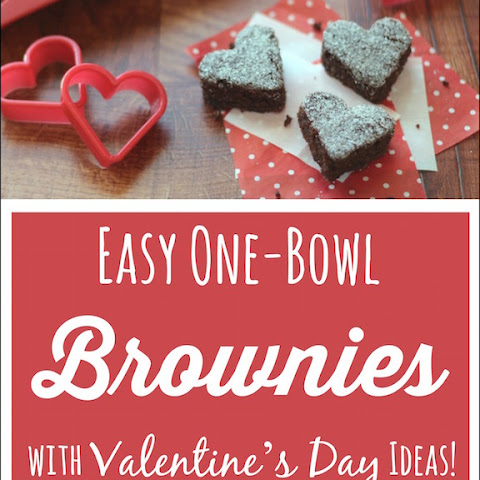 Surprisingly Decadent Brownies (Healthy, Whole Wheat & One Bowl!)