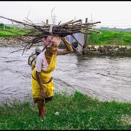 Backwoods by Rahul Baruah - People Portraits of Women