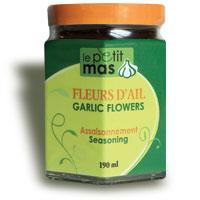 Fleurs D Ail Fermentees Dans L Huile Le Petit Mas Inc Marche